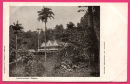 ST VINCENT - Government House - Thomas Lawlor - WILSON'S ST. VINCENT SERIES - VENDOR PROUDFOOT ST VINCENT - Saint-Vincent-et-les Grenadines