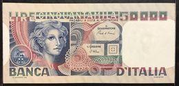 50000 Lire Volto Di Donna 11 04 1980  Fds Ondulazioni   LOTTO 2392 - [ 2] 1946-… : Repubblica