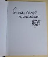 Dessinateur Jacques Faizant Livre Dédicacé Pouce ! Dessins Du Point Dédicace De L'auteur - Books, Magazines, Comics