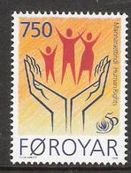 Faroe Islands 1998 International Year Of Human Rights Mi 340 MNH(**) - Féroé (Iles)