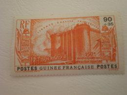 TIMBRE COLONIE FRANCAISE GUINEE N°157 CHARNIERE - Guinée Française (1892-1944)