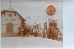 Carte Postale  Photo Leuk  Stadt..Loèche-ville. - VS Valais