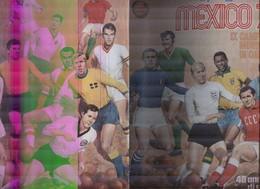 MEXICO 1970....CALCIO...FOOTBALL...SOCCER..TEAM....WORLD CUP.....MUNDIAL...LIBRO..RIVISTA - Deportes