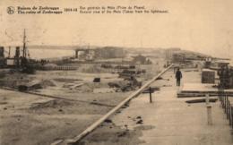 BELGIQUE - FLANDRE OCCIDENTALE - ZEEBRUGGE - 1914-18 - Vue Générale Du Môle (Prise Du Phare). - Zeebrugge