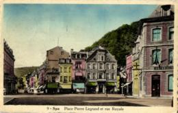 BELGIQUE - LIEGE - SPA - Place Pierre Legrand Et Rue Royale. - Spa