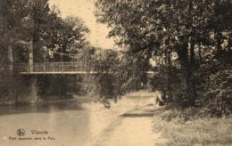 BELGIQUE - BRABANT FLAMAND - VILVOORDE - VILVORDE - Pont Suspendu Dans Le Parc. - Vilvoorde