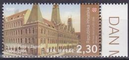 Kroatien, 2004, 695, Tag Der Briefmarke: 100 Jahre Hauptpostamt, Zagreb. MNH ** - Croatie