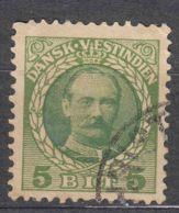 Denmark Danish Antilles (West India) 1907 Mi#41 Yvert#36 Used - Denmark (West Indies)