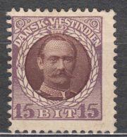 Denmark Danish Antilles (West India) 1907 Mi#43 Yvert#38 Mint Hinged - Dinamarca (Antillas)