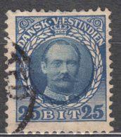 Denmark Danish Antilles (West India) 1907 Mi#45 Yvert#40 Used - Denmark (West Indies)
