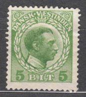 Denmark Danish Antilles (West India) 1915 Mi#49 Yvert#44 MNG - Dinamarca (Antillas)
