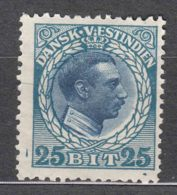 Denmark Danish Antilles (West India) 1915 Mi#53 Yvert#48 Mint Hinged - Denmark (West Indies)