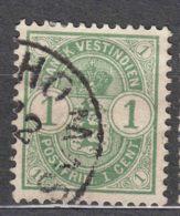 Denmark Danish Antilles (West India) 1900 Mi#21 Yvert#16 Used - Dinamarca (Antillas)