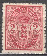 Denmark Danish Antilles (West India) 1900 Mi#27 Yvert#17 Mint Hinged - Denmark (West Indies)