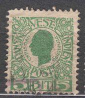 Denmark Danish Antilles (West India) 1905 Mi#29 Yvert#27 Used - Dinamarca (Antillas)