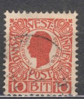 Denmark Danish Antilles (West India) 1905 Mi#30 Yvert#28 Used - Dinamarca (Antillas)