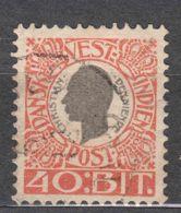 Denmark Danish Antilles (West India) 1905 Mi#33 Yvert#31 Used - Dinamarca (Antillas)