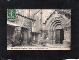 """82609    Francia,  Beaumes-de-Venise,  Portail Et Portique De L""""Eglise,  VG  1913 - Beaumes De Venise"""