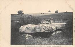 A-19-498 : MEGALITHE. ARCHEOLOGIE. DOLMEN D'AILLE A SAINT-GEORGES LES BAILLARGEAUX - Dolmen & Menhirs