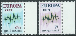 1972 EUROPA UNITA CEPT BELGIO MNH ** - F10-10 - 1972