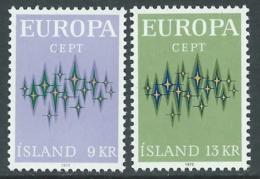 1972 EUROPA UNITA CEPT ISLANDA MNH ** - F11 - Europa-CEPT