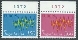 1972 EUROPA UNITA CEPT JUGOSLAVIA MNH ** - F11 - Europa-CEPT