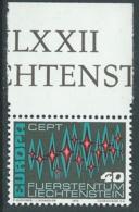 1972 EUROPA UNITA CEPT LIECHTENSTEIN MNH ** - F11-2 - Europa-CEPT