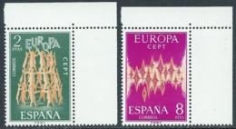 1972 EUROPA UNITA CEPT SPAGNA MNH ** - F11-4 - 1972