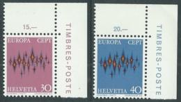 1972 EUROPA UNITA CEPT SVIZZERA MNH ** - F11-3 - 1972