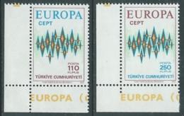 1972 EUROPA UNITA CEPT TURCHIA MNH ** - F11-3 - 1972