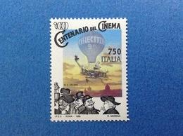1995 ITALIA CINEMA CINECITTA' MONGOLFIERA FRANCOBOLLO NUOVO STAMP NEW MNH** - 6. 1946-.. Repubblica