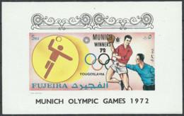 Fujeira 1972 Year, Sport  Mint Block MNH (**) Imperf. - Summer 1972: Munich