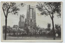 Barcelona Templo De La Sagrada Familia En Construccion 10 Ediciones Libreria Francesa - Barcelona