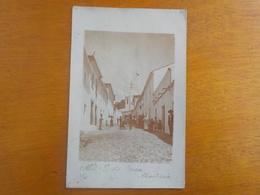 8822) Portugal Alte Algarve Albumina Rua Da Praça 1908 - Faro