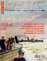 Marines Hors Série N° 4, La Royal Navy 1939-41 - Bateaux