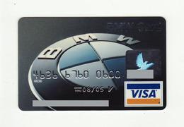 BMW Bank USA VISA Expired 2006 - Cartes De Crédit (expiration Min. 10 Ans)