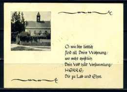 K10018)Ansichtskarte: Dauba, Kirche - Böhmen Und Mähren