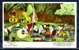 K10860)Ansichtskarte: Schneewittchen Und Die 7 Zwerge - Disneyworld