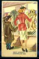 K10875)Ansichtskarte: Humorkarte Schaufensterbummel - Humor