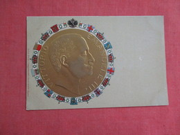 Embossed Vittorio Emanuele 111 --- Ref 3119 - Familles Royales