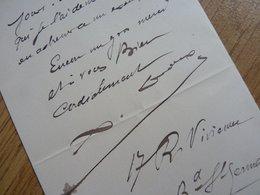 Xavier LEROUX - Autographes