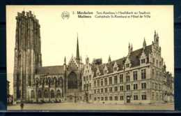 K11925)Cartes Postales: Malines, St. Rombaut - Mechelen