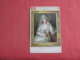 Angelica Kauffmann 1741-1807-- Painter  Ref 3119 - Famous Ladies