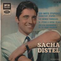 Disque 45 Tours SACHA DISTEL - Disco, Pop