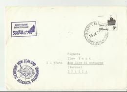NZ  Cv 1974 ANTARCTICA - Cartas