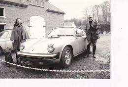 Porsche  Et Les Propriétaires  Format 12,5x9 - Automobiles