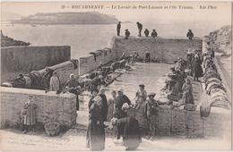 DOUARNENEZ - LE LAVOIR DE PORT-LAOUEN ET L'ILE TRISTAN - N° 32 - ND Phot. - Douarnenez