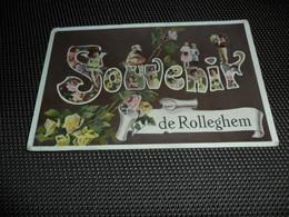 Rolleghem  Rollegem  ( Courtrai  Kortrijk )   Souvenir De Rolleghem - Kortrijk