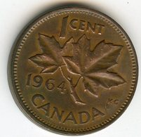 Canada 1 Cent 1964 KM 49 - Canada