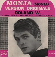 Disque 45 Tours ROLAND W - 1968 - Disco, Pop